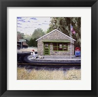 Framed Redan Post Office