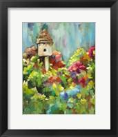 Framed Spring Birdhouse