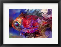 Framed Beautiful Red Fish