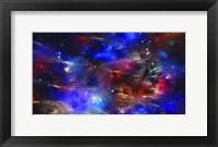 Framed Cosmic Blue