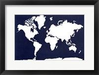 Framed World Map 5