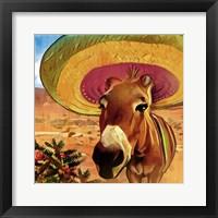 Framed Fiesta Mule