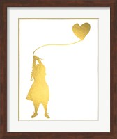 Framed Balloon Heart