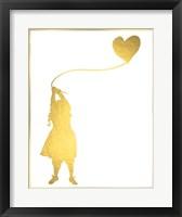 Framed Balloon Heart