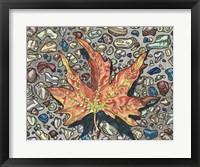 Framed Autumn's Hourglass