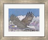 Framed Flight Of The Eagle