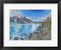 Framed Mount Robson