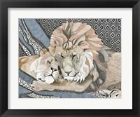Framed Lioness
