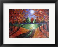 Framed Autumn Moonlight