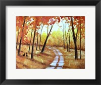 Framed Autumn Path