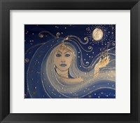 Framed Goddess Of Night