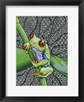 Framed Freddie The Frog