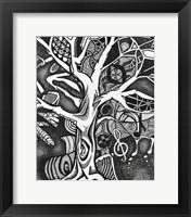 Framed Tree of Music