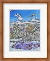 Framed Winter Serenity