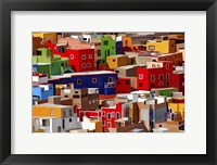 Framed Color town