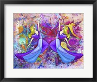 Framed Lady Dance