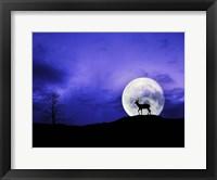 Framed Big Moon