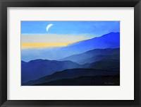 Framed Blue Mountains