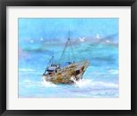 Framed Blue Sea