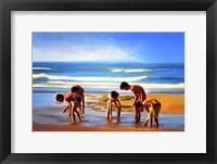 Framed Kids At The Beach?
