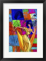 Framed Color Dance
