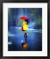 Framed Rainy Day