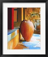 Framed Rustic Vase