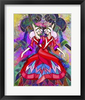 Framed Twin Dances