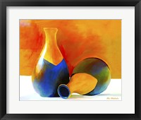 Framed Two Vases