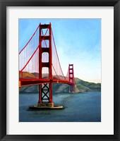 Framed Golden Gate Bridge