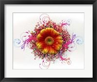 Framed Flowers Design 2