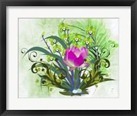 Framed Flowers Design 3
