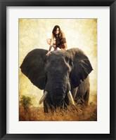 Framed Warrior Girl