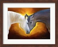 Framed Animal Love