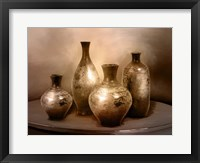 Framed Beautiful Vases