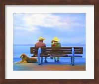 Framed Old Couple
