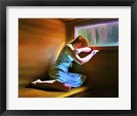 Framed Sad Girl