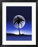 Framed Big Moon Night