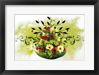 Framed Flower Design 3