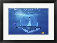 Framed Ocean World 3