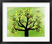 Framed Cherry Tree