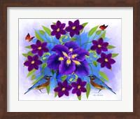Framed Floral Design R