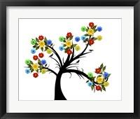 Framed Flower Tree