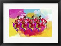 Framed Group Dance