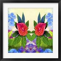 Framed Flower Design 32