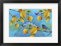 Framed Autumn Season