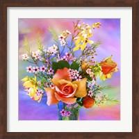 Framed Flower Design 7AB