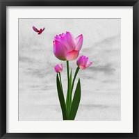 Framed Flower Design 7ABC