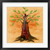 Framed Music Tree