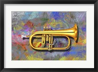 Framed Trumpet